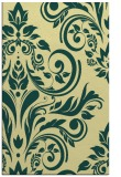 rug #245653 |  yellow damask rug