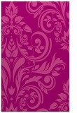 rug #245657 |  pink damask rug