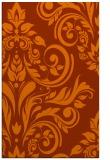 rug #245705 |  red-orange popular rug