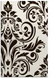 rug #245745 |  brown damask rug