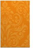 rug #245793 |  light-orange damask rug