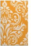 rug #245797 |  light-orange damask rug