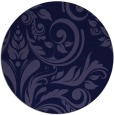 rug #245885 | round blue-violet rug