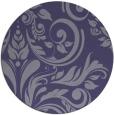 rug #245890 | round damask rug