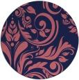 rug #245893 | round pink rug