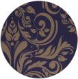 rug #245909   round beige damask rug