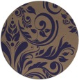 rug #245910 | round damask rug