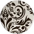 rug #246097 | round brown popular rug