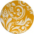 rug #246137 | round light-orange damask rug