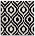 rug #250029   square black animal rug