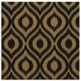 rug #250045   square brown animal rug