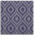 rug #250113 | square blue-violet animal rug