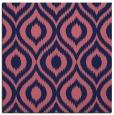 rug #250117   square pink animal rug