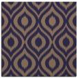 rug #250133 | square blue-violet rug