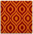 rug #250213 | square orange animal rug