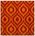 rug #250269 | square orange animal rug