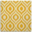 rug #250313 | square yellow animal rug