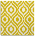 rug #250325 | square yellow natural rug