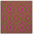 rug #250353   square pink rug