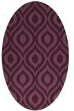 rug #250540   oval animal rug