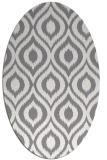 rug #250680   oval animal rug
