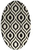 rug #250686 | oval animal rug