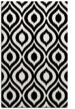 rug #250733 |  white animal rug