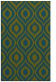 rug #250789 |  green animal rug