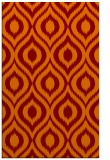 rug #250917 |  orange natural rug