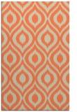 rug #250925 |  orange natural rug