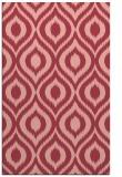 rug #250945 |  pink animal rug