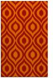 rug #250973 |  orange animal rug