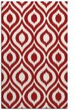 rug #250977 |  red animal rug