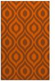 rug #250993 |  red-orange animal rug