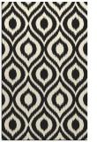 rug #251037 |  black natural rug