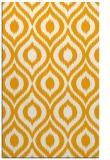 rug #251065 |  light-orange animal rug
