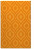 rug #251073 |  light-orange animal rug