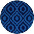 rug #251249 | round blue animal rug