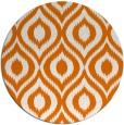 rug #251273   round orange natural rug