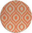 rug #251277 | round beige animal rug