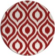 rug #251329 | round red animal rug