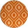 rug #251341 | round red-orange animal rug