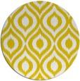 rug #251381 | round yellow popular rug