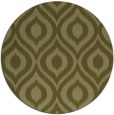 rug #251413 | round light-green natural rug