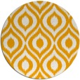 rug #251417 | round light-orange animal rug