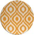 rug #251429   round light-orange animal rug