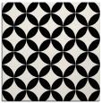 rug #251789 | square black circles rug