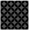 rug #251793 | square black circles rug
