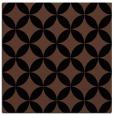 rug #251801 | square brown circles rug