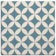 rug #251809 | square white geometry rug
